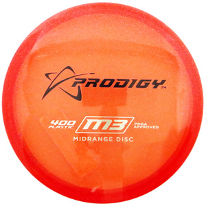 Prodigy Limited Edition Glimmer 400 Series M3 Midrange Golf Disc