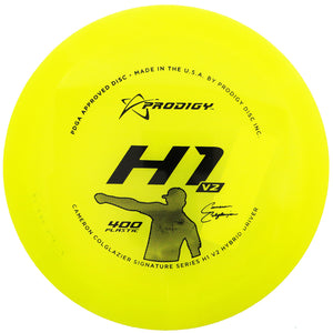 Prodigy Limited Edition Signature Series Cameron Colglazier 400 Series H1 V2 Hybrid Fairway Driver Golf Disc