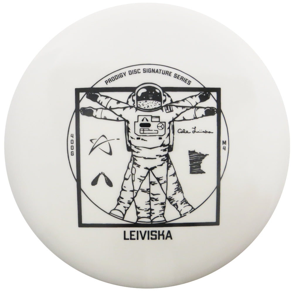 Prodigy Limited Edition Signature Series Cale Leiviska 400G Series M4 Midrange Golf Disc