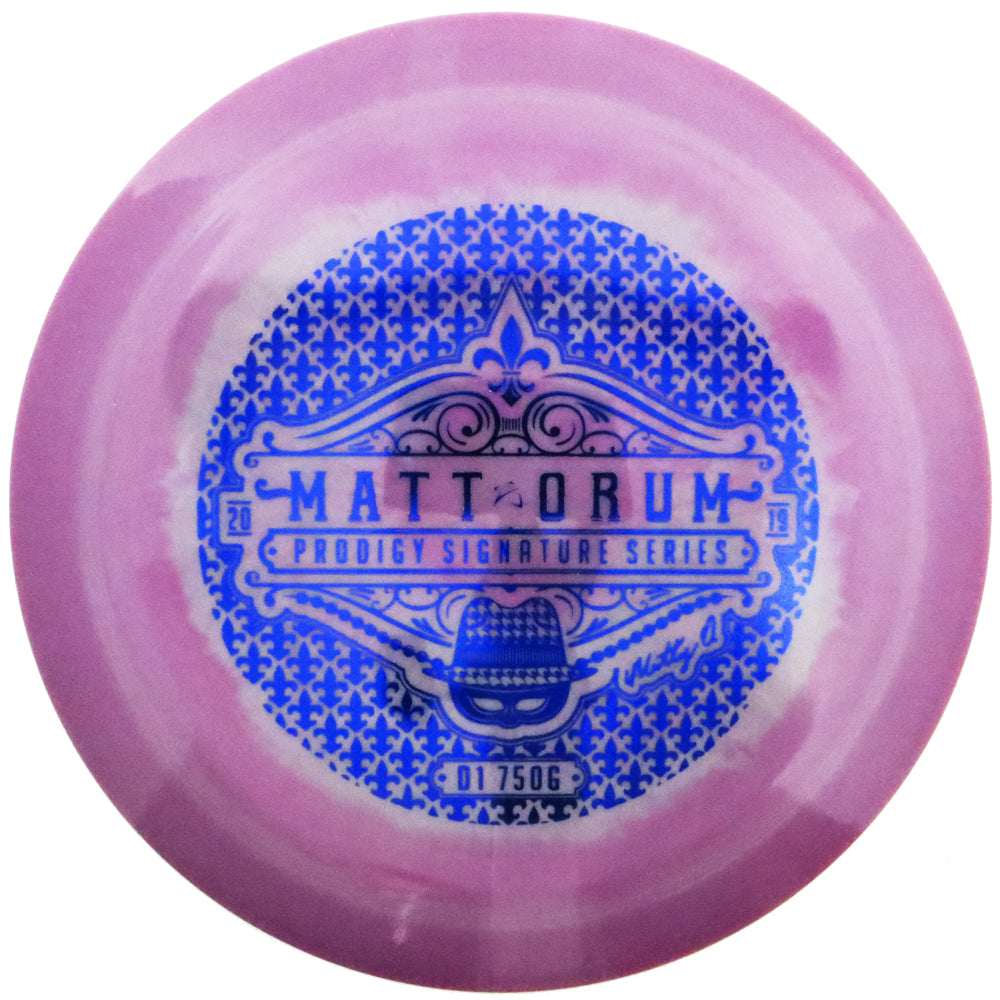 Prodigy Limited Edition Signature Series Matt Orum 750G Spectrum D1 Distance Driver Golf Disc
