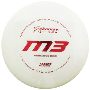 Prodigy 400 Glow Series M3 Midrange Golf Disc