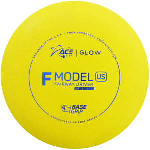 Prodigy Ace Line Glow Base Grip F Model US Fairway Driver Golf Disc