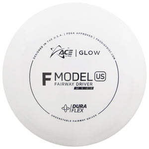 Prodigy Ace Line Glow DuraFlex F Model US Fairway Driver Golf Disc