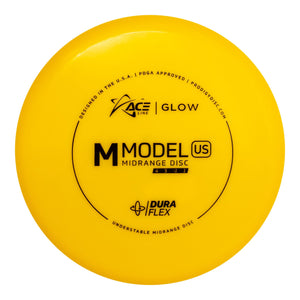 Prodigy Ace Line Glow DuraFlex M Model US Golf Disc