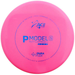 Prodigy Ace Line Glow DuraFlex P Model S Putter Golf Disc