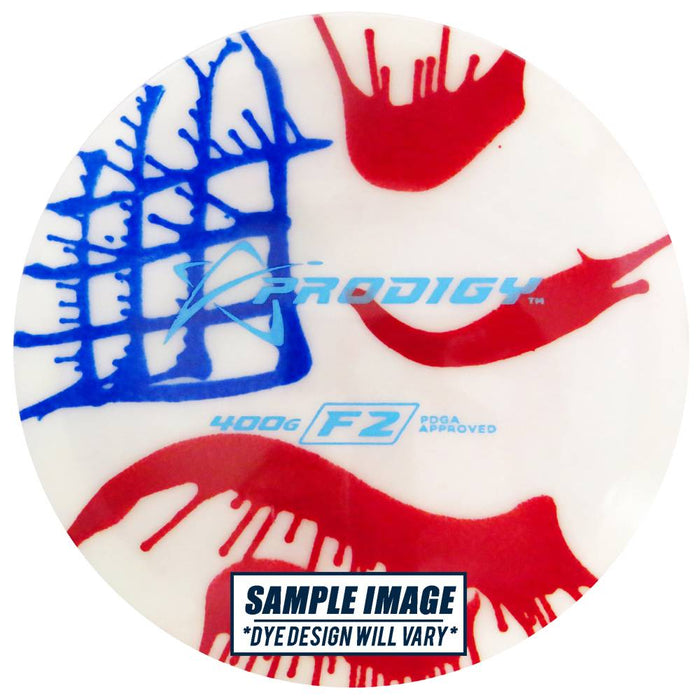 Prodigy Tie-Dye 400G Series F2 Fairway Driver Golf Disc