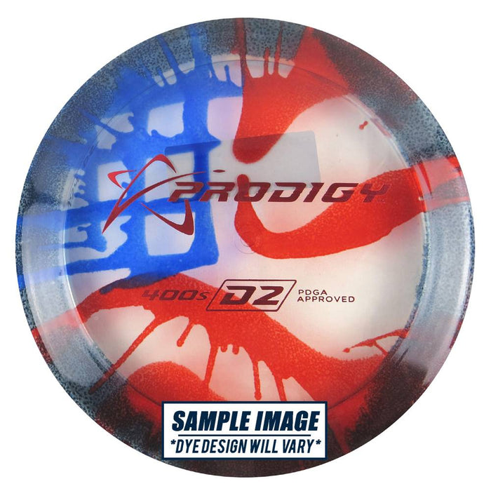 Prodigy Tie-Dye 400 Series D2 Distance Driver Golf Disc