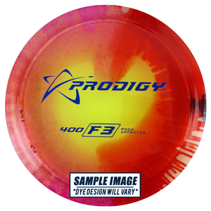 Prodigy Tie-Dye 400 Series F3 Fairway Driver Golf Disc