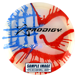 Prodigy Tie-Dye 750 Series F5 Fairway Driver Golf Disc