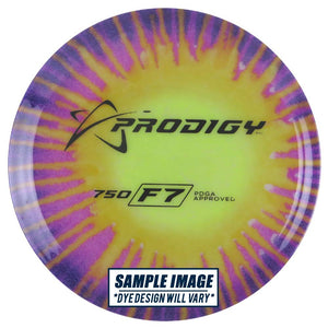 Prodigy Tie-Dye 750 Series F7 Fairway Driver Golf Disc