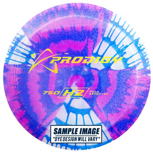 Prodigy Tie-Dye 750 Series H2 Hybrid Fairway Driver Golf Disc