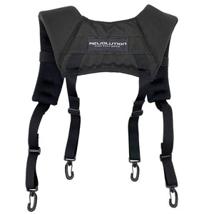 Revolution Harness Premium Backpack-Style Disc Golf Bag Strap