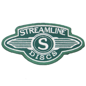 Streamline Discs Logo Iron-On Disc Golf Patch