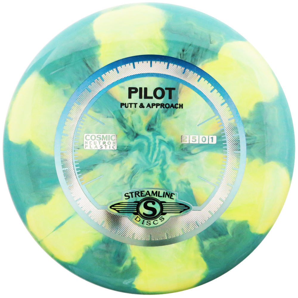 Streamline Cosmic Neutron Pilot Putter Golf Disc