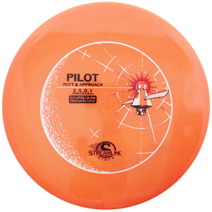 Streamline Eclipse Glow Proton Pilot Putter Golf Disc