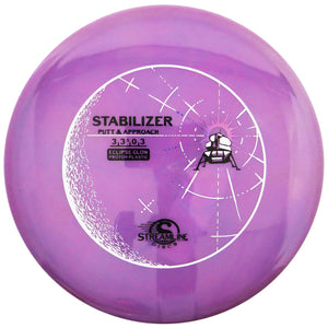 Streamline Eclipse Glow Proton Stabilizer Putter Golf Disc