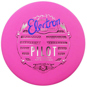 Streamline Electron Soft Pilot Putter Golf Disc