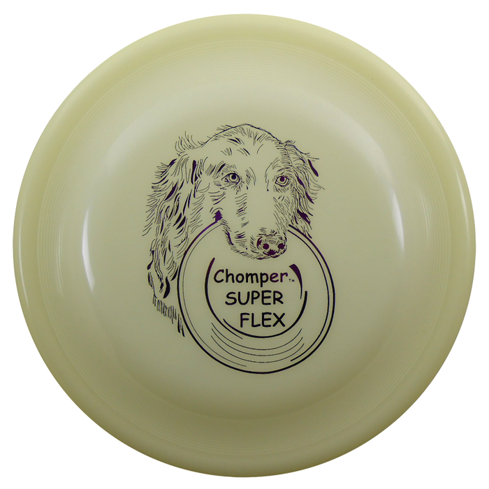 Chomper Fastback 110g Dog Disc - Classic Super Flex