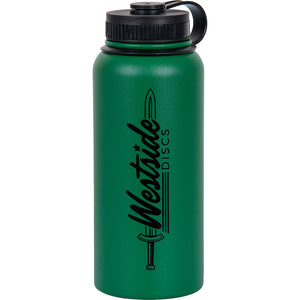 Westside Discs Logo 32 oz. Stainless Steel Insulated Water Bottle