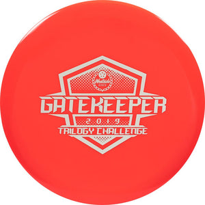 Westside Limited Edition 2019 Trilogy Challenge Tournament Gatekeeper Midrange Golf Disc