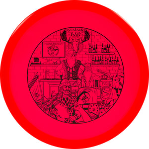 Westside Limited Edition Bar Stamp VIP Gatekeeper Midrange Golf Disc