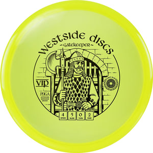 Westside First Run VIP Gatekeeper Midrange Golf Disc