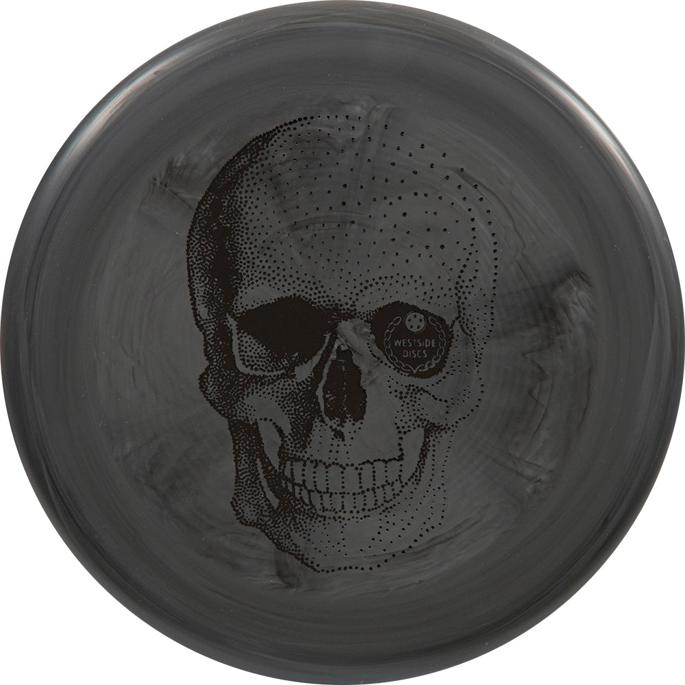 Westside Limited Edition Happy Skull BT Medium Shield Putter Golf Disc