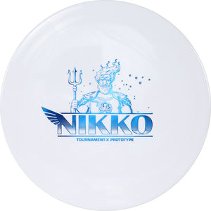 Westside Limited Edition 2020 Tour Series Nikko Locastro Prototype Tournament-X Ahti Fairway Driver Golf Disc
