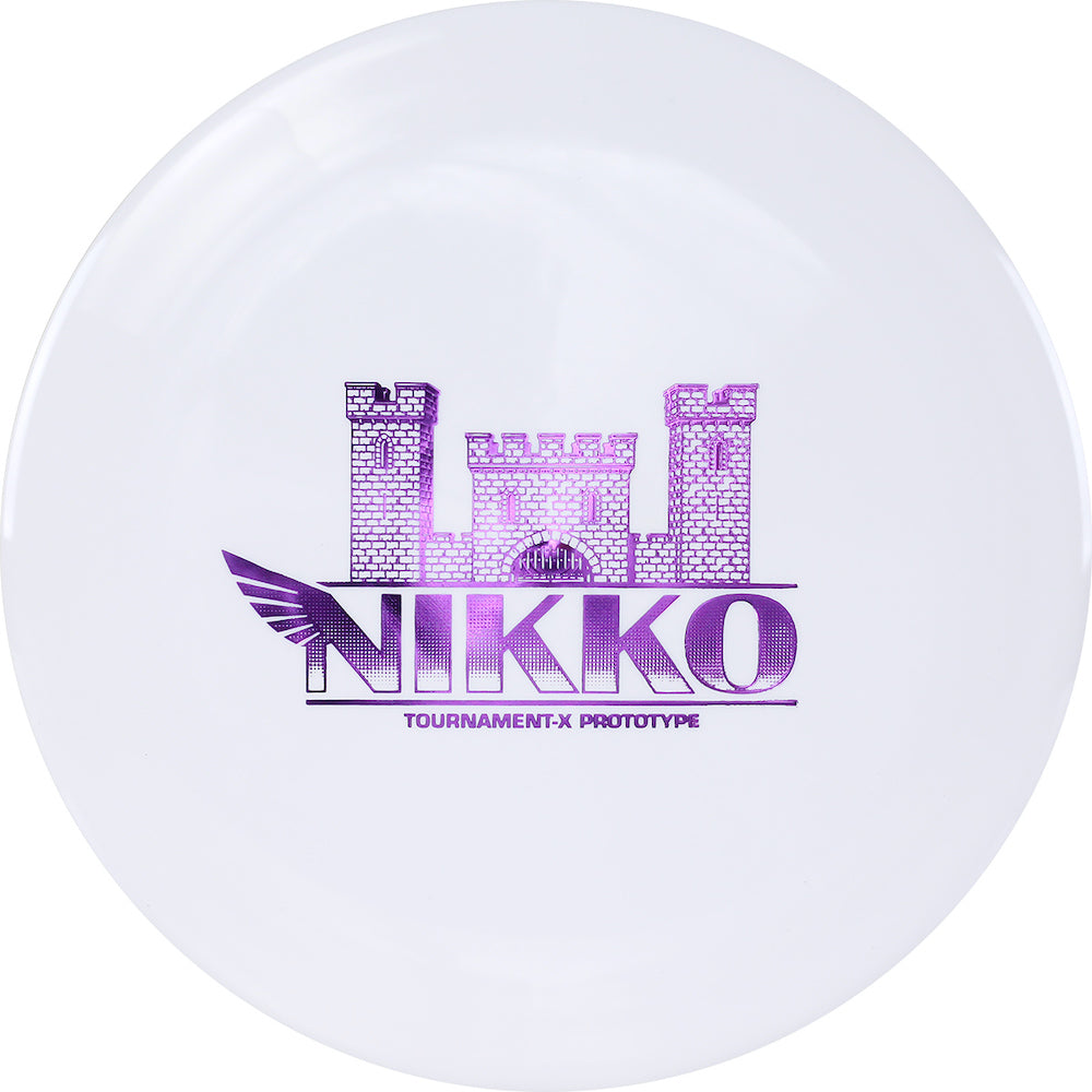 Westside Limited Edition 2020 Tour Series Nikko Locastro Prototype Tournament-X Fortress Distance Driver Golf Disc