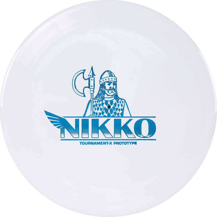 Westside Limited Edition 2020 Team Series Nikko Locastro Prototype Tournament-X Gatekeeper Midrange Golf Disc