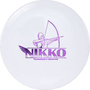 Westside Limited Edition 2020 Tour Series Nikko Locastro Prototype Tournament-X Longbowman Fairway Driver Golf Disc