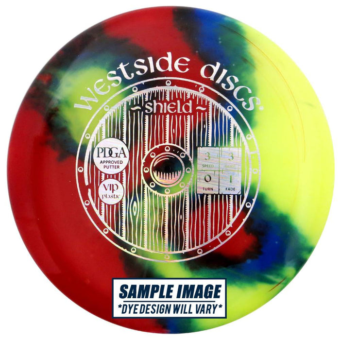 Westside MyDye VIP Shield Putter Golf Disc