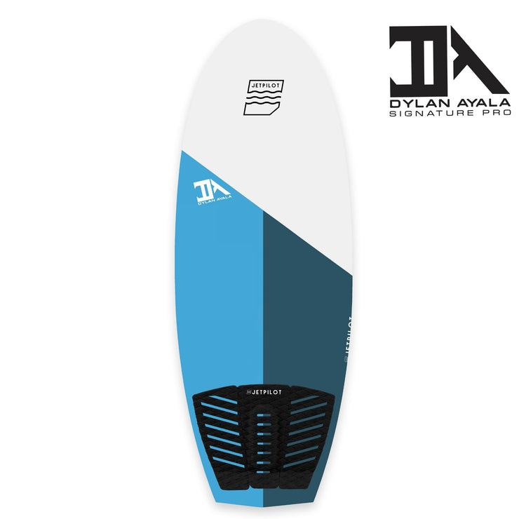 Jetpilot's Dylan Ayala Pro model wake surfboards top deck