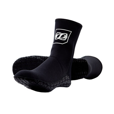 Front and bottom view of the Jetpilot Neo Ride Sock.