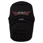 Jetpilot's A-10 Comp Vest black colorway backside photo