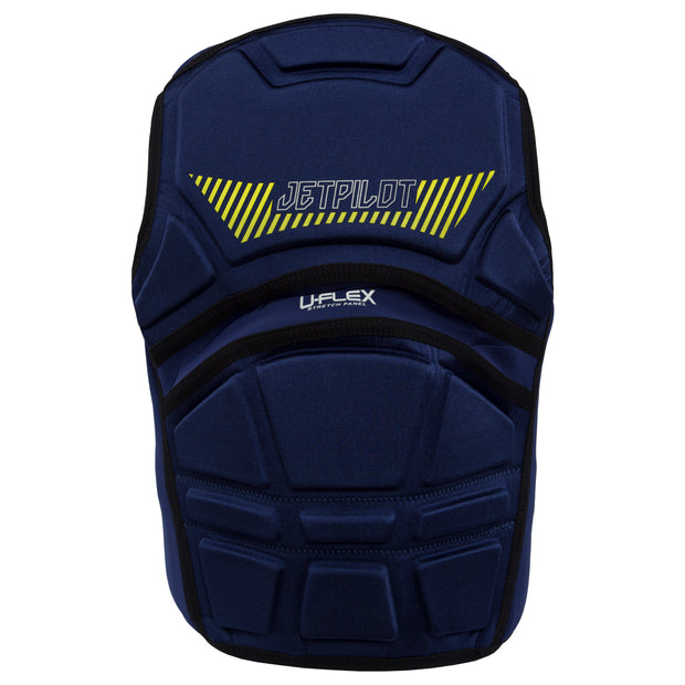 Jetpilot's A-10 Comp Vest navy colorway backside photo
