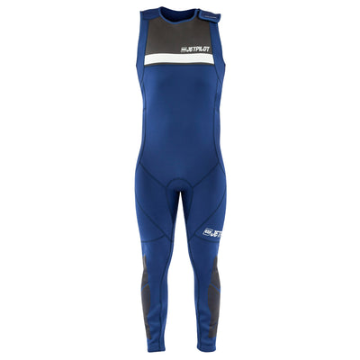 Front view of the Jetpilot L.R.E. John Wetsuit Navy colorway