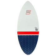 "Bottom of the Jetpilot Glass Slipper 52"" wake surfboard"