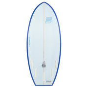Bottom of the Jetpilot's Flying Dutchman wake surfboard