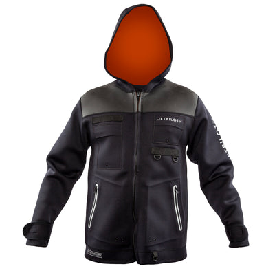 Front view of the Jetpilot Tour Coat.