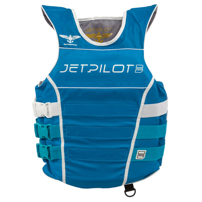 Front view of the Jetpilot F-86 Sabre Nylon Aqua colorway.