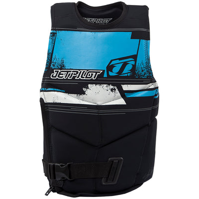 Front view of the Jetpilot Bonifay comp jacket.