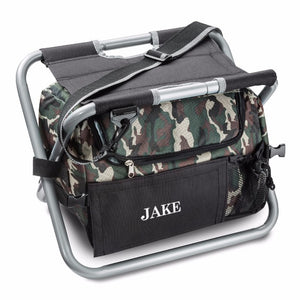 Camouflage Sit n' Sip Cooler Chair