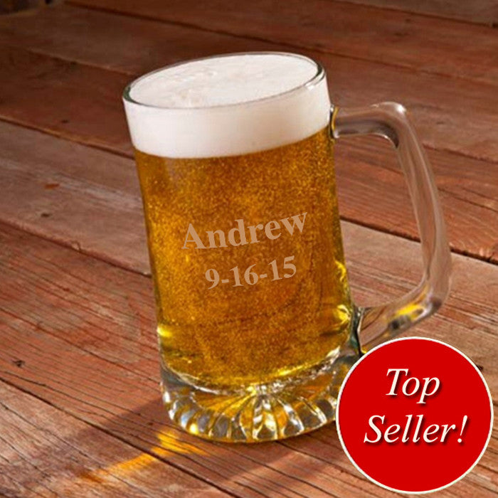 Personalized 25 oz. Sports Mug for Groomsmen