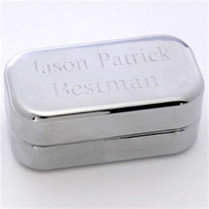 Dashing Cuff Links with Personalized Case  - BESTMAN