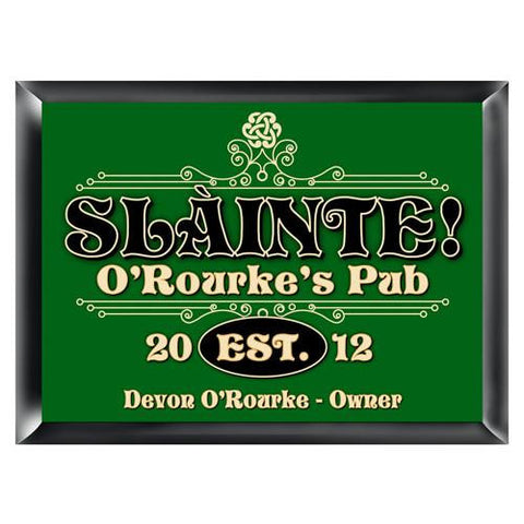 Traditional Irish Themed Pub Sign