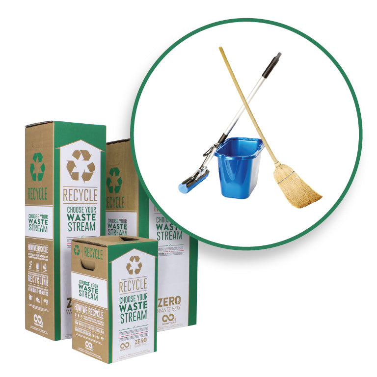 Cleaning Supplies and Accessories Zero Waste Box Small Medium Large