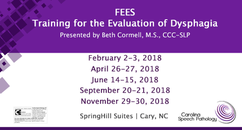 FEES® – Training for the Evaluation of Dysphagia | Beth Cormell (2018)