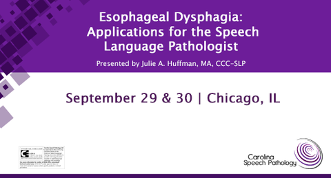 Esophageal Dysphagia: Applications for the Speech-Language Pathologist (1517-003)