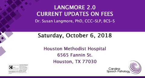 Langmore 2.0 Houston | Current Updates on FEES (1318-002)